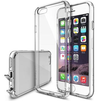 Clear Premium Crystal Bumper Case with Back Case for IPhone 6 Plus 5.5