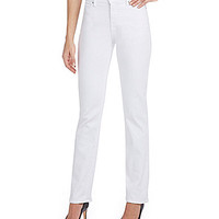 Levi's® Petite 512™ Perfectly Slimming Straight Jeans - Whi