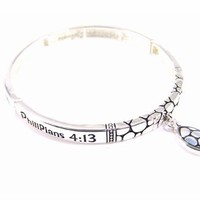 4030205 Philippians 4:13 Stretch Bracelet Christian Religious Scripture