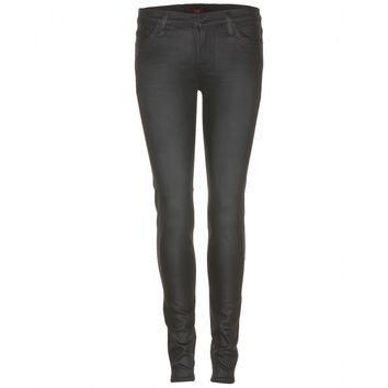 7 for all mankind - the skinny coated jeans