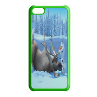 Olaf and Sven Funny Cartoon iPhone 5C Case