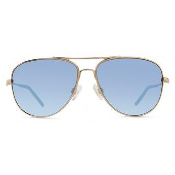 Revo - Windspeed Gold Sunglasses, Blue Water Serilium Lenses
