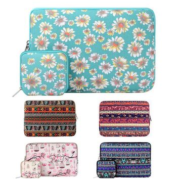 Mosiso 11.6 13.3 15.4 inch Print Laptop Sleeve Bag Notebook Handbag Cover Case for MacBook Air Pro 11 12 13 14 15 Asus Acer HP