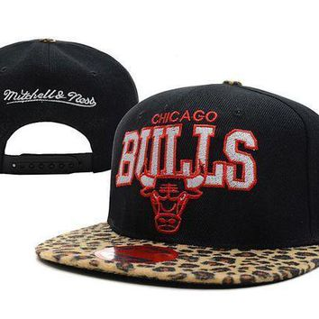 Chicago Bulls Nba 9fifty Hat M&n Black Camouflage