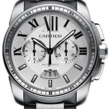 Cartier Calibre de Cartier Mens Chronograph Automatic Watch W7100045
