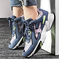 Adidas YUNG-96 Falcon Fashion New Women Men Runing Shoes