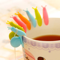 Cooking Tools Small Snail Recognizer Device Tea Infuser Cup Of Tea Hanging Bag Color Random