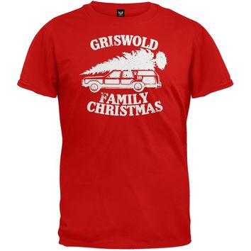 Christmas Vacation - Griswold Family Christmas Red T-shirt