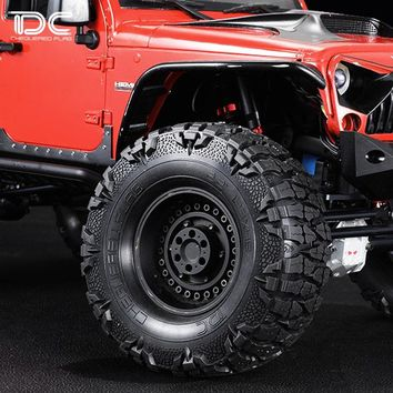 Mud Grappler Extreme Mud Terrain Tire 1.9inch 2.2inch for Axial scx10 90046 90047 jeep Wrangler  Traxxas TRX4 bronco ford D90