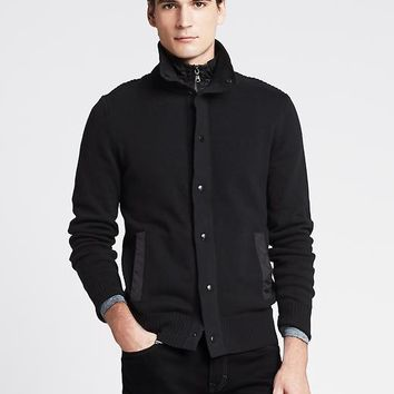 Black Sweater Jacket