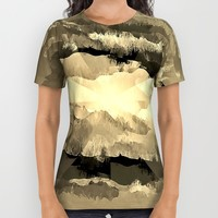 The Cloud All Over Print Shirt by Fringeman
