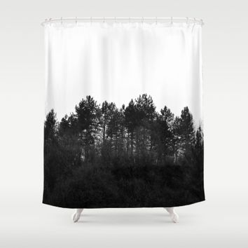 Crest Shower Curtain by ARTbyJWP