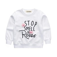 Stop Smell The Roses Baby Kid Child Toddler Newborn Sweater