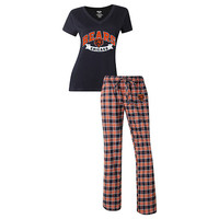Chicago Bears Pants and V-Neck Top Set