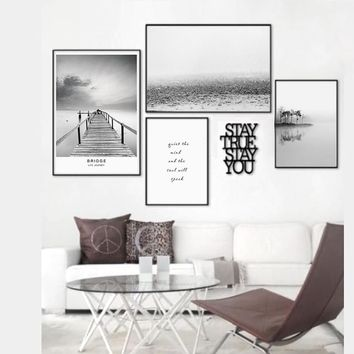 900D Posters And Prints Wall Art Canvas Painting Wall Pictures For Living Room Nordic Decoration NOR23