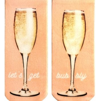 Let's Get Bubbly Ankle Socks