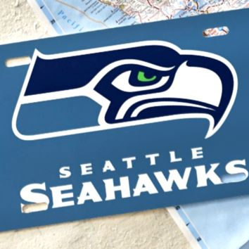 Seattle Seahawks Car Tag/License Plate