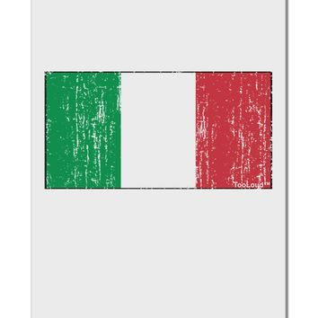 "Italian Flag - Distressed Aluminum 8 x 12"" Sign by TooLoud"