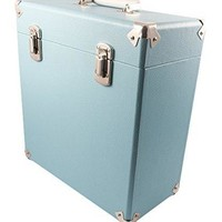 GPO SWB18BLU 12 IN Vinyl Record Case Blue