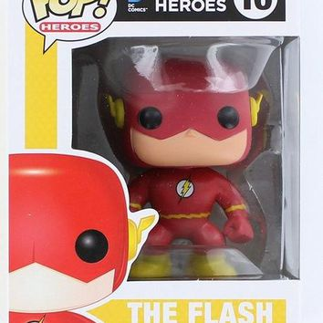 Funko pop Official TV: The Flash Reverse Flash SuperHeros Action Figure key Doll Collectible Model Toy with Original box