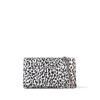 SAINT LAURENT LEOPARD PRINT CLUTCH