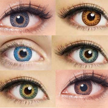 GEO Twins Series Circle Lenses Colored Contacts Cosmetic Color Circle Lens | EyeCandy's