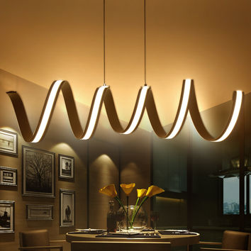 Modern LED Hanging Lamps Dinning Living Room Pendant Lights Lampe Lamparas Modern Pendant Lamp for Kitchen Suspension Luminaire