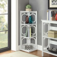 "Ardenvor 38.5"" Corner Unit Bookcase"