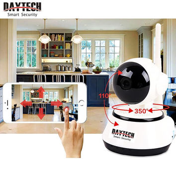 Daytech Home Security IP Camera Wireless WiFi Camera Surveillance 720P Night Vision CCTV/Baby Monitor