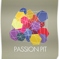 "Passion Pit - ""Chunk of Change"" T-Shirt and Posters"