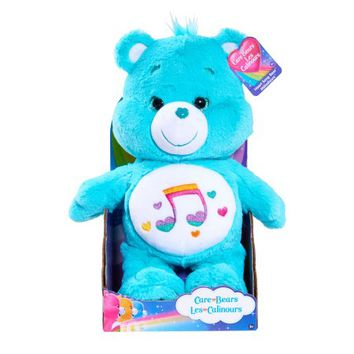 CARE BEAR MEDIUM PLUSH- HEART SONG - Walmart.com
