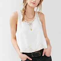 Ecote White Light Tank Top