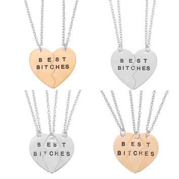 Best Friends BFF Forever Necklace