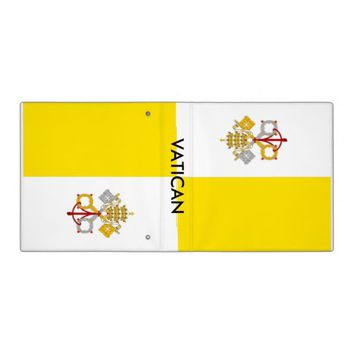 Binder with Flag of Vatican