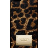 MICHAEL Michael Kors iPhone 5 Case, Leopard Print Haircalf