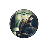 Arrow Oliver Queen Crouching Button
