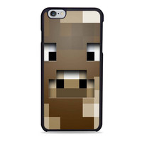 minecraft cow character Iphone 6 Cases