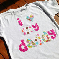 I Heart - Custom Size Applique Shirt