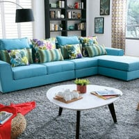 2016 No Beanbag Muebles For Living Room European Style Set Modern Fabric Hot Sale Low Price Factory Direct Sell Fabri Sofa