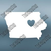 Iowa Home State Svg Dxf Pdf Jpg Cut File | Iowa pdf File | Love JPG Sticker | Svg Dxf Jpg Jpeg  PDF | Digital Download | 474