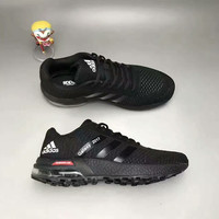 """""""Adidas"""" Fashion Casual Knit Fly Line Surface Unisex Air Cushion Sneakers Couple Running Shoes"""