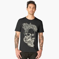 'Highway to hell' Men's Premium T-Shirt by hypnotzd