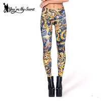 Doctor Who The Pandorica Opens Printed Woman Leggings High Elastic La Pandorica s'ouvre Leggins Skinny Mujer Pants KDK1422