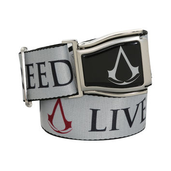 Assassin's Creed Live By The Creed Seat Belt Belt
