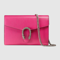 Gucci Dionysus leather mini chain bag
