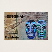 Historian Design Business Card