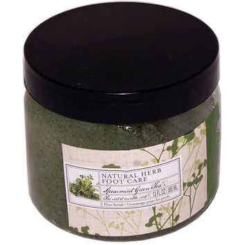 Natural Herb Foot Care Spearmint Green Tea Foot Scrub