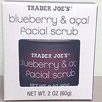 Trader Joe's Blueberry & Açaí Facial Scrub 2-ounce Jar