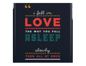 iPHONE CASE - 'The fault in our stars' by John Green iPhone Cases & Sk