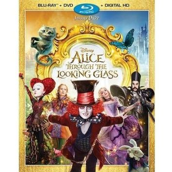 Alice Through The Looking Glass (Blu-ray + DVD + Digital HD) - Walmart.com
